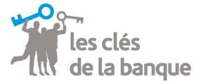 logo les clés de la banque